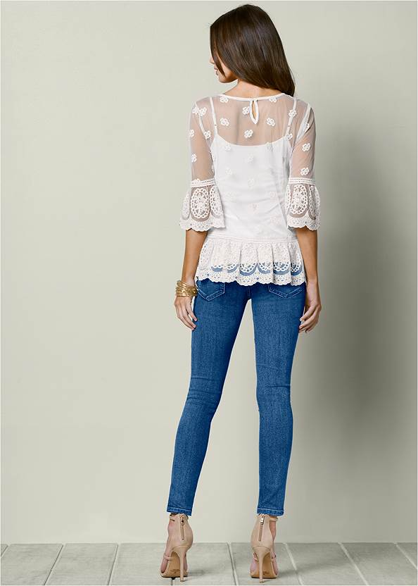 Back view Lace Top