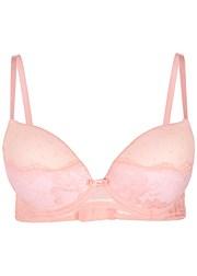4869e8a4ef Light Pink LACE HIGH-WAIST PANTIES