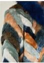 ALTERNATE VIEW Faux Fur Multi Color Coat