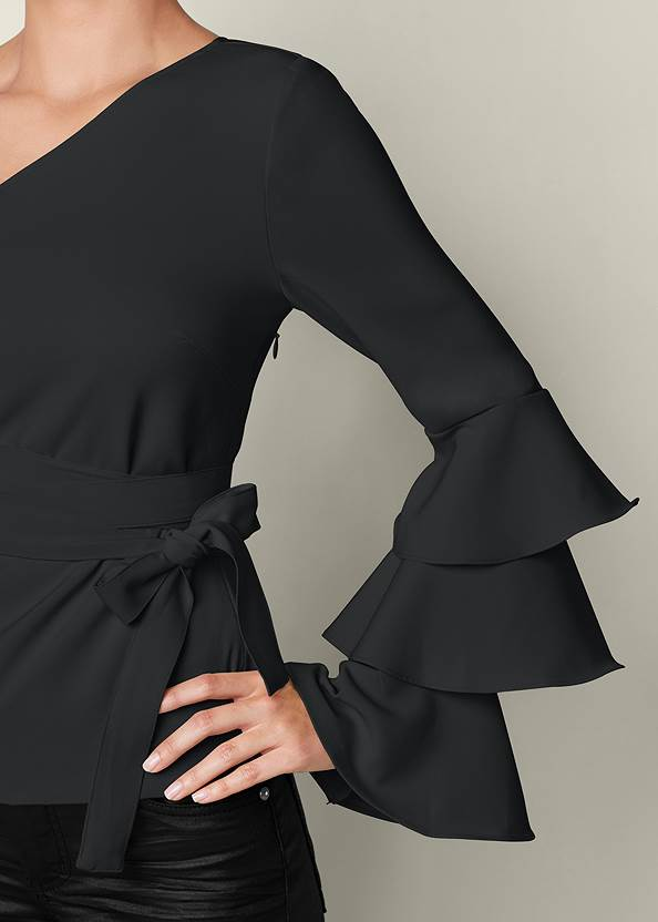 Alternate View Ruffle Off-The-Shoulder Top