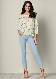 Front view Floral Top