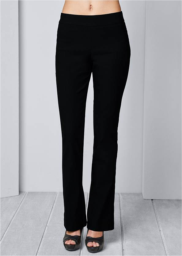 Front view Slimming Pull On Pants