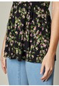 Alternate view Layered Floral Tank