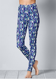 plush sleep legging