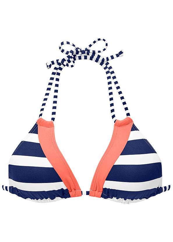 Alternate view Strappy Triangle Bikini Top