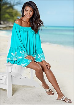 off the shoulder cover-up
