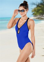 curvaceous one piece