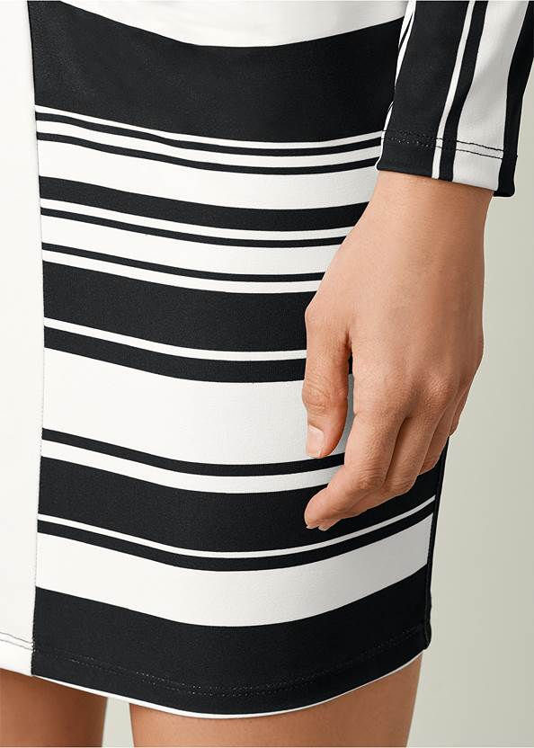 Alternate view Stripe Bodycon Dress
