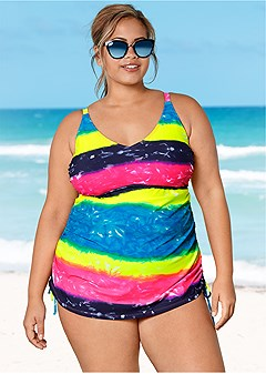 Plus Size Tankini Tops