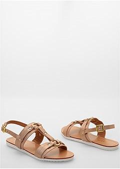 rosegold sandal