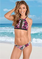 macrame bralette bikini top