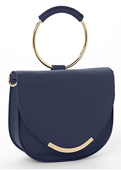 circle detail handbag