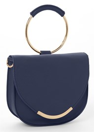 Front View Circle Detail Handbag