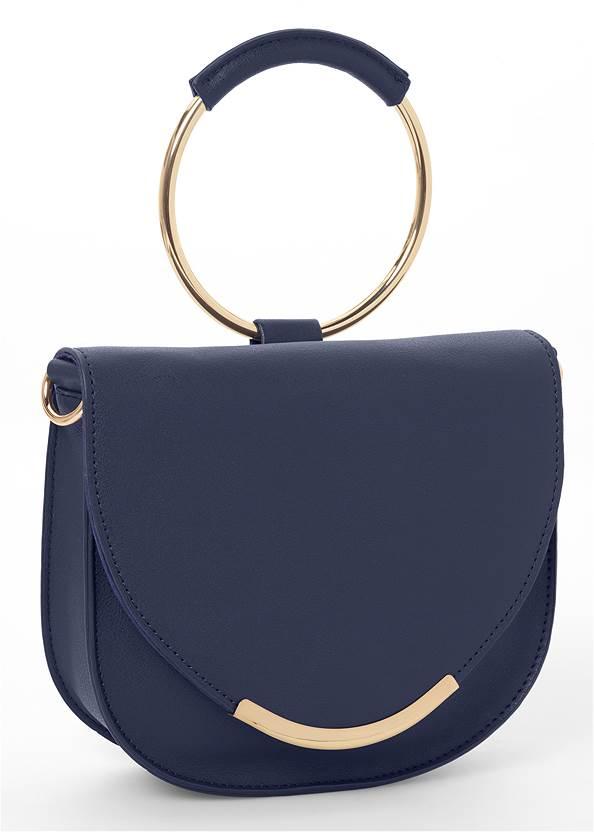 Circle Detail Handbag,Tweed Mini Dress,Animal Print Bangle Set