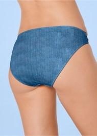 ba Eyelet Trim Bikini Bottom