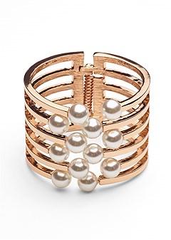 pearl detail cuff