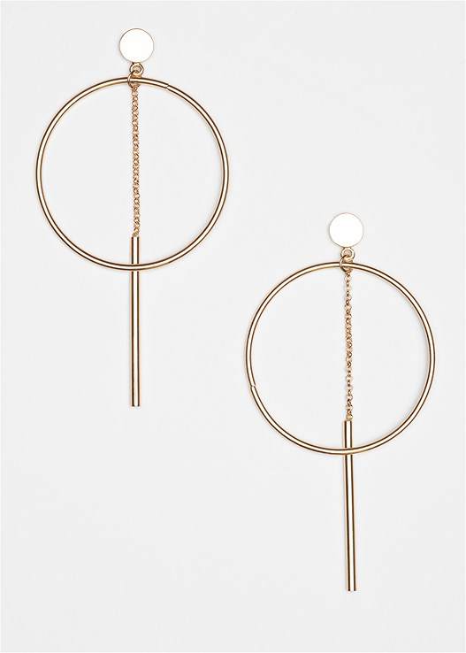 HOOP DETAIL EARRINGS