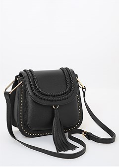 braid detail satchel
