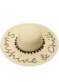 sunshine chill floppy hat