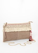 tassel detail handbag