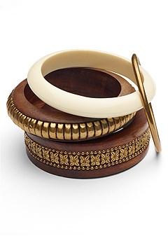 mixed bangle set