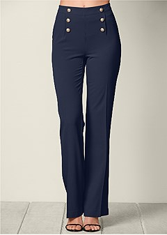 slimming flare pants