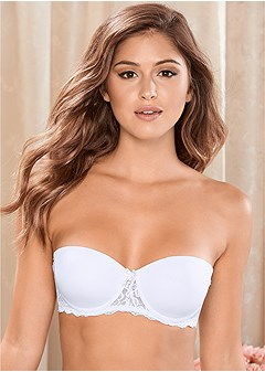 3052886a6000d convertible lace pushup bra