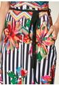 ALTERNATE VIEW Striped Printed Maxi Dress