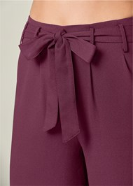 Alternate View Belted Wide Leg Pants