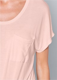 Alternate View Twisted Knot Detail Tee