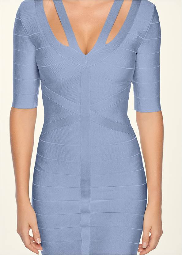 Alternate View Bandage Strap Detail Dress