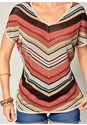 Alternate view Multicolored Stripe Sweater