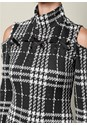 Alternate view Plaid Cold Shoulder Dress
