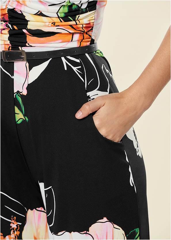 Alternate view Strapless Culotte Jumpsuit