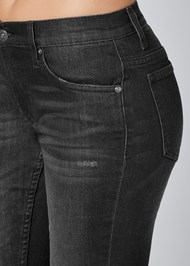 Alternate View Deep Cuff Jeans