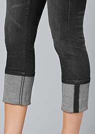 Alternate View Cropped Cuff Jeans