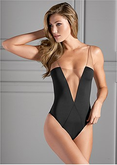 illusion mesh bodysuit