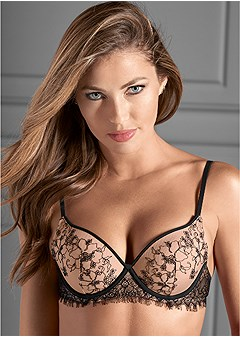tattoo illusion lace bra