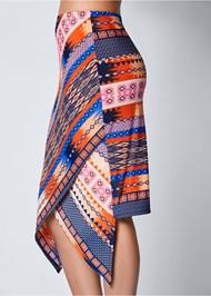 Alternate view Surplice Front Skirt