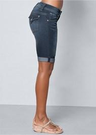 Alternate view Long Jean Shorts