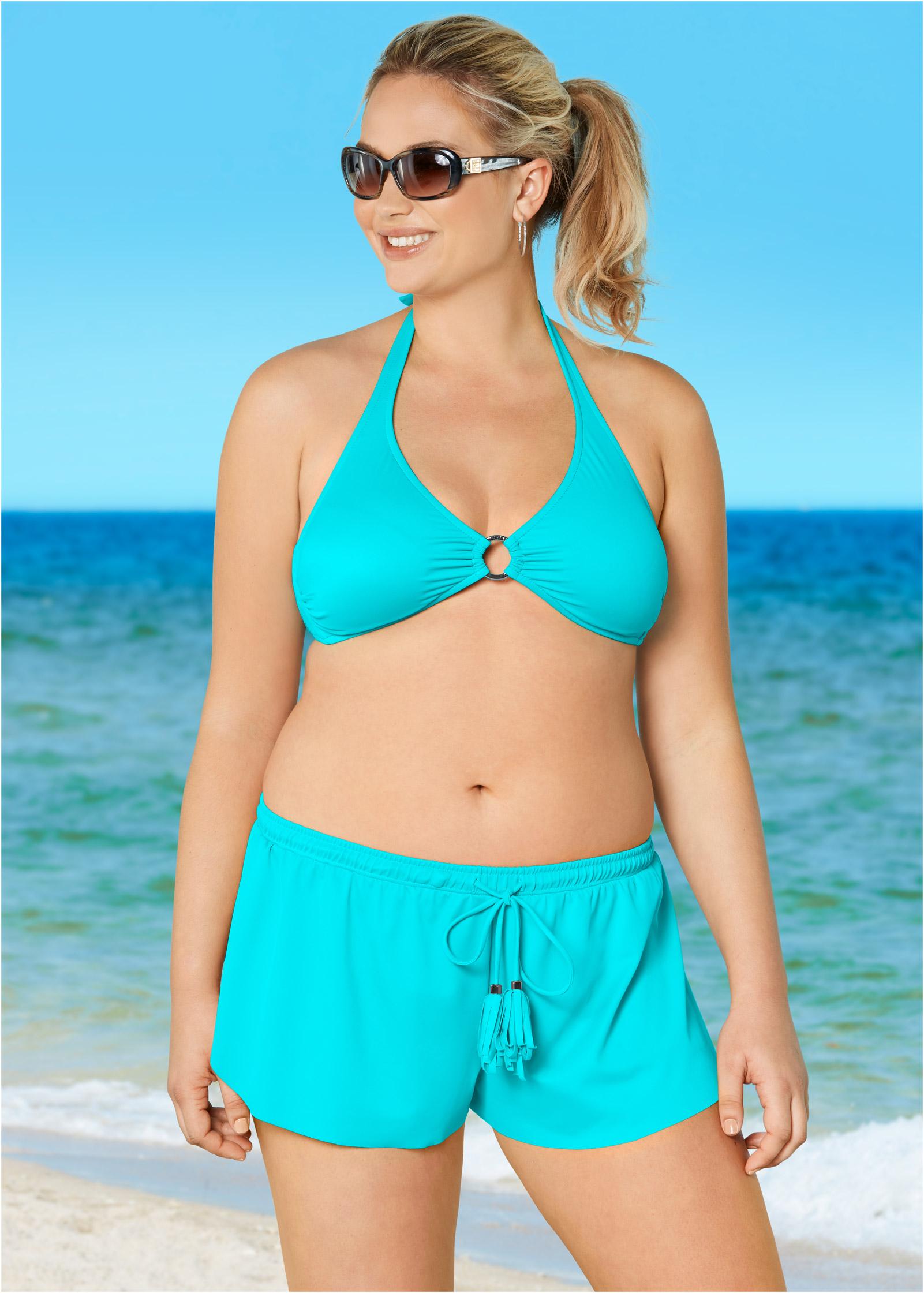 Think, halter bikini size confirm