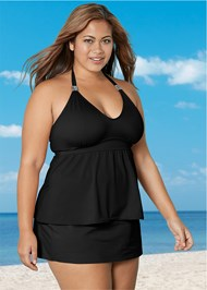 Front View Siren Tankini Top