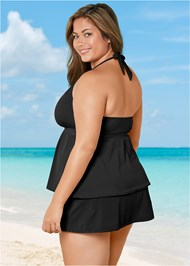Back View Siren Tankini Top