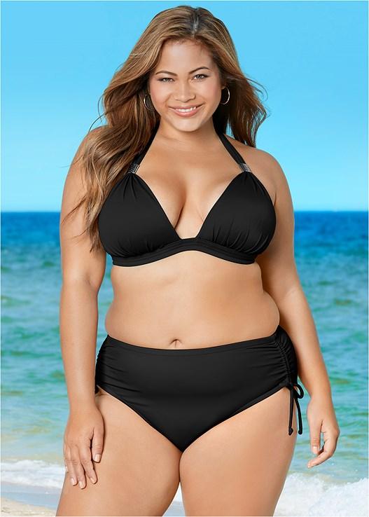 6be4b4977ad38 Black Beauty GODDESS ENHANCER PUSH UP Bikini