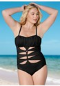 Front view Drama Queen One-Piece