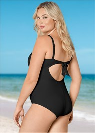 Back view Drama Queen One-Piece