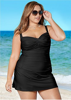 Plus Size One-Piece Swimsuits & Monokinis
