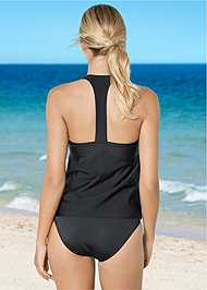 Back View Handkerchief Tankini