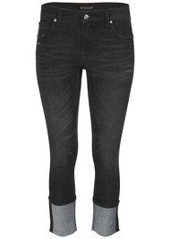 Alternate View Cropped Cuff Jeans