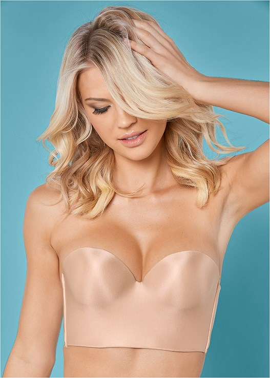 4016a713a2 Nude SMOOTH LONGLINE PUSH UP BRA from VENUS